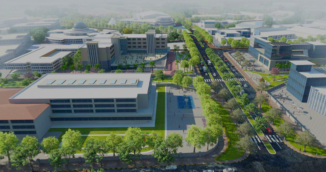 Commercial zone rendering