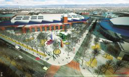 National Western Center master plan rendering