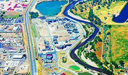 Aerial of the Northern Treatment Plant