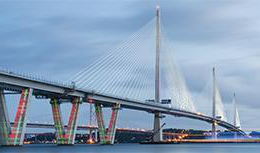 Queensferry Crossing by day