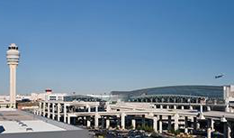 Hartsfield Jackson Atlanta International Airport from afar