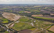 Aerial of The Avenue Coking Works site