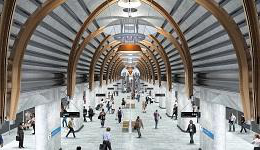 Metro Tunnel Project rendering