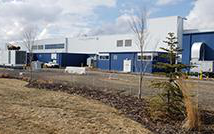 Outside of Calgary Composting Facility
